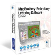 MacBroidery™ Embroidery Lettering Software