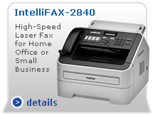 IntelliFax-2840 Small Office/Home Office High-Speed Laser Fax