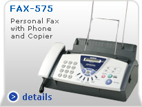 Fax-575 Personal Fax with Phone and Copier