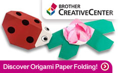 Visit the Brother Creative Center to create cards