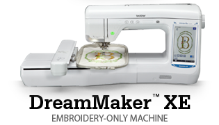 DreamMaker™ XE: EMBROIDERY-ONLY MACHINE