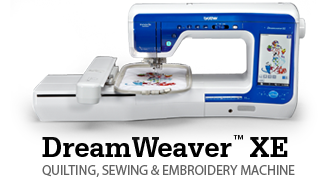DreamWeaver™ XE: QUILTING, SEWING & EMBROIDERY MACHINE