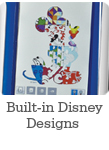 Built-in Disney Designs