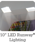 Vibrant 10 inch Runway® Lighting