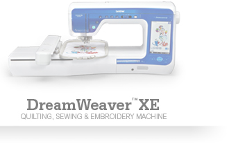 DreamWeaver XE Quilting, Sewing And Embroidery Machine