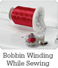 Bobbin Winding While Sewing