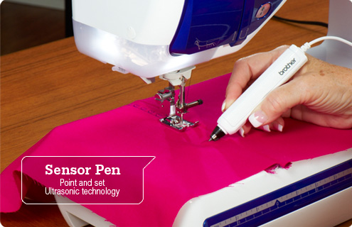 Sensor Pen: Point and set Ultrasonic technology