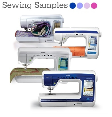 Sewing Samples - DreamWeaver and DreamWeaver XE
