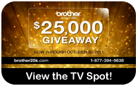 25K GIVEAWAY, View the TV Spot!