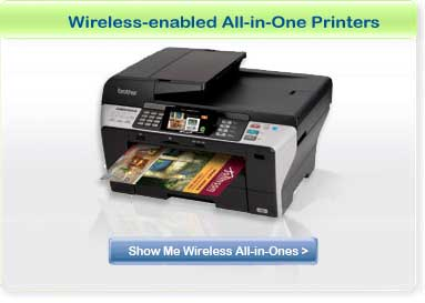Show Me Wireless All-in-One Printers