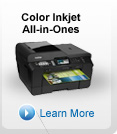 Color inkjet All-in-Ones