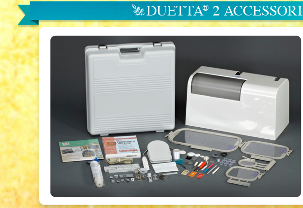 Introducing Duetta 2 Affordable Sewing Embroidery, Quilting & more