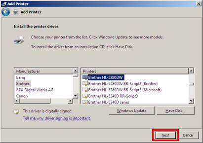 Brother hl 1440 драйвер windows 7