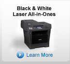 black and white laser all in ones