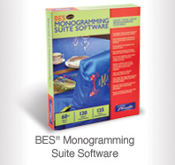 BES® Monogramming Suite Software