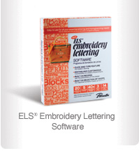els embroidery lettering software