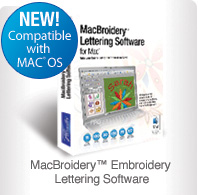 MacBroidery Embroidery Software