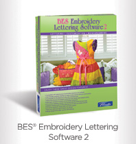 BES® Embroidery Lettering Software 2