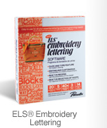 ELS® Embroidery Lettering
