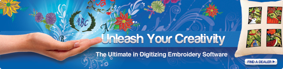 Unleash Your Creativity, The Ultimate in Digitizing Embroidery Software