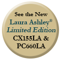 See the New Laura Ashley® Limited Edition CX155LA & PC660LA