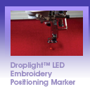 Droplight<sup>&trade;</sup> LED Embroidery Positioning Marker