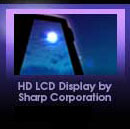 HD LCD Display by Sharp Corporation