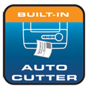 Built-in Auto Cutter