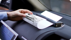 Print full-page documents virtually anywhere – inside or outside a vehicle