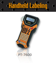 Handheld labeling product PT-7600 EDGE®