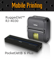 Mobile printing products RuggedJet™ RJ-4030 and PocketJet® 6 Plus