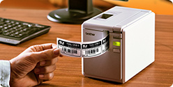 Durable, laminated barcode labels on-demand that withstand harsh conditions.