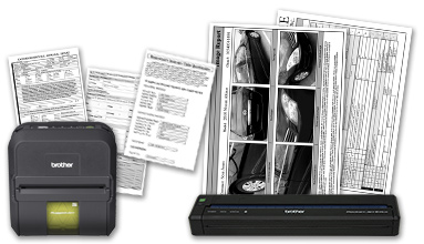 RuggedJet™ RJ-4030 and PocketJet® 6 Plus mobile printer