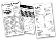 "Fast 4"" wide printing for pre-sales documents, delivery receipts, invoices, and returned-goods labels."