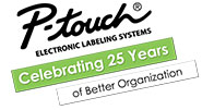 PTouch Celebrating 25 years.