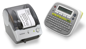 Brother Products Label Printers - Name badge printer