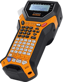Brother™ PT-7600 Rechargeable, download-ready industrial labeling tool