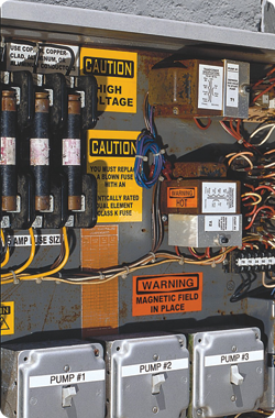 Brother™ electrical panel labeling solutions can help make electrical panels safer