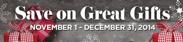 Holiday 2014 Gift Guide Promotion