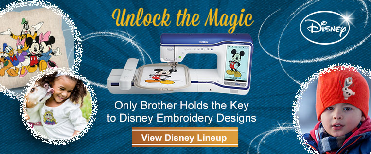 Unlock the Magic with Brother's Lineup of Disney Models