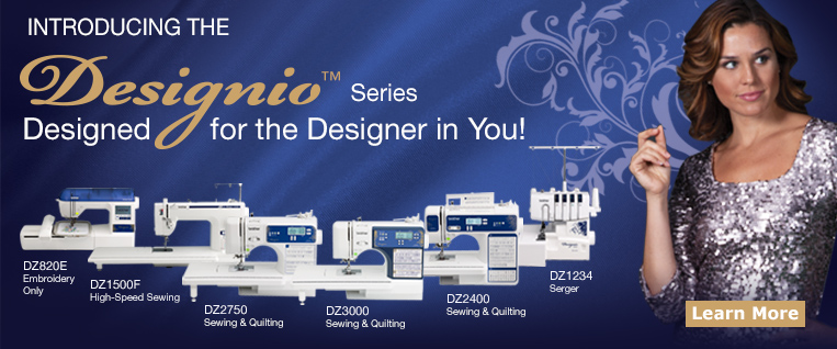 Designio Sergers, Sewing and Quilting Machines from Brother