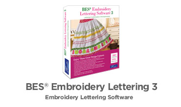 Featured Product - BES Embroidery Lettering Software 3
