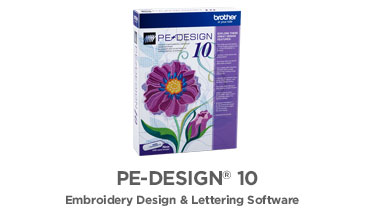 Featured Product - PE-Design 10 Embroidery Software