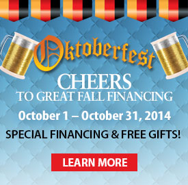 Oktoberfest 2014 Fall Financing Promotion