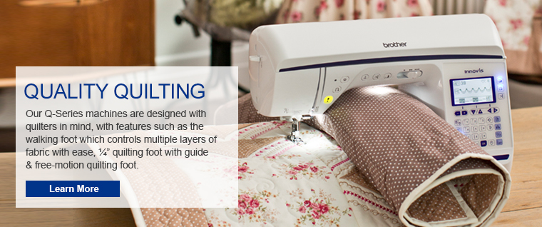 Quality Quilting with the New Q-Series Lineup