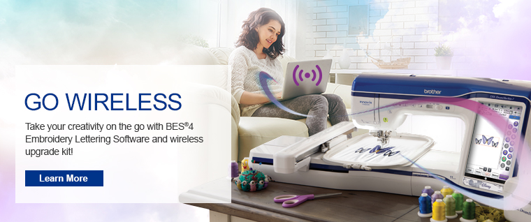 Go Wireless with BES®4 Dream Edition
