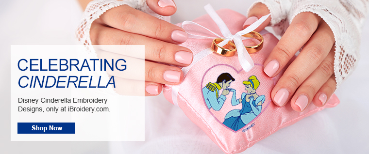 Celebrating Cinderella on iBroidery.com