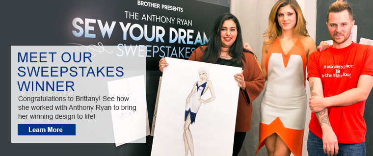Introducing the Talented Winner of our Sew Your Dreams Sweepstakes!