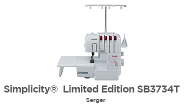 Simplicity® Limited Edition SB3734T Serger