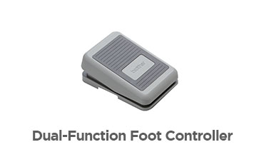 Dual-Function Foot Controller